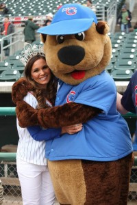Mrs. Iowa 2013 at Iowa Cubs