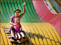 Iowa State Fair - Big Slide