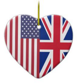 Union Jack Ornamet
