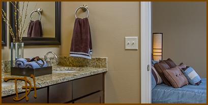 Granite Master Bathroom Countertop