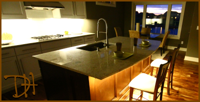 Granite Countertop Under Lighting