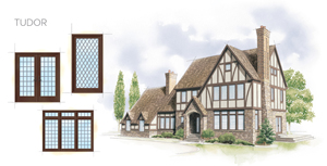 Tudor Style Windows Brilliant Your Architectural Style  Andersen Windows  Doors  Drake Homes Design Ideas